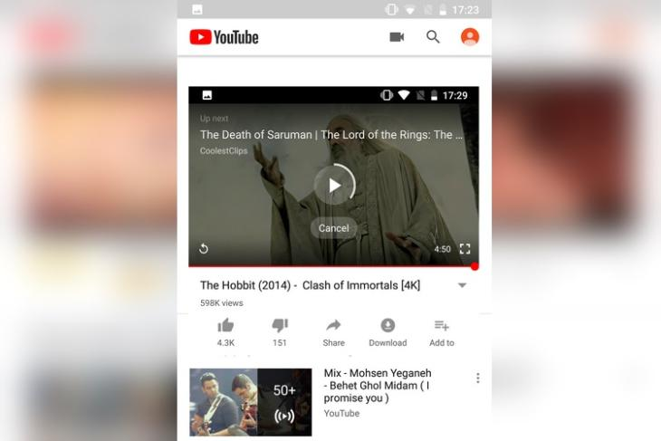YouTube for Android Gets Muted AutoPlay Video Support on Home Feed