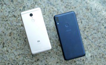 ZenFone Max Pro vs Redmi Note 5