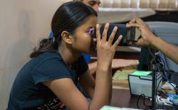 aadhaar girl iris