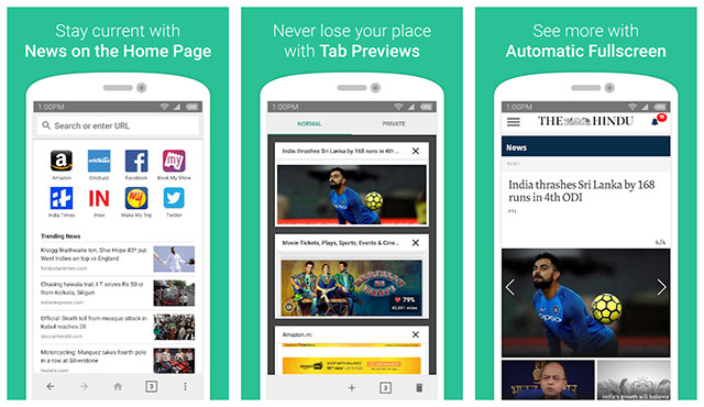 Amazon's Lightweight Android Browser Called 'Internet' Is Available in India