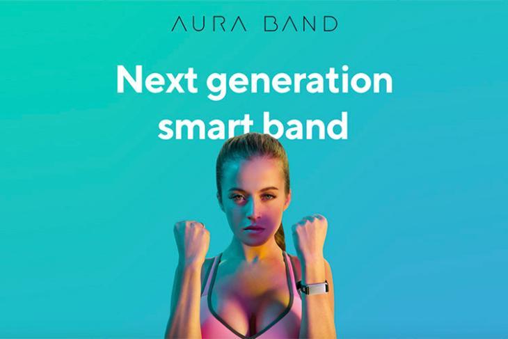 aura band rewards fitness featured website
