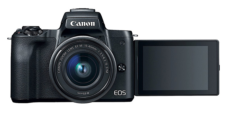 Canon EOS M50 With 4K Video Capabilities Launched in India for ₹61,995
