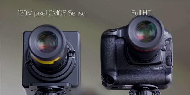 Big Brother Could Soon Be Watching You With Canon's Incredible 120-Megapixel Sensor