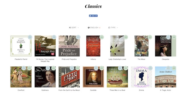 classics english