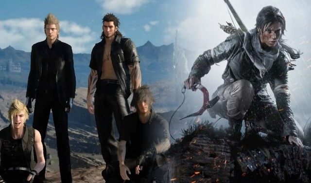 Square Enix Confirms Final Fantasy XV and Shadow of the Tomb Raider Crossover