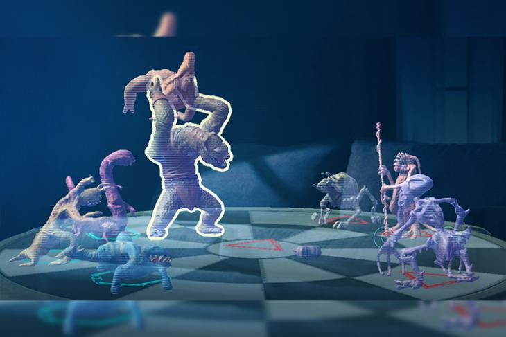 """Now Play Star Wars """"Dejarik"""" Holochess on iOS Without an AR Headset"""