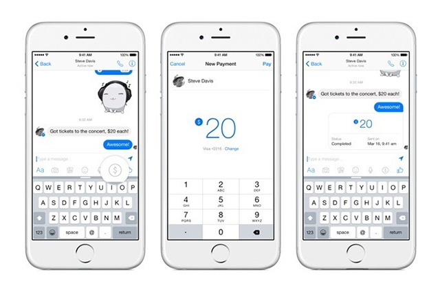 Facebook is Testing Payments Feature in India Inside Facebook Messenger