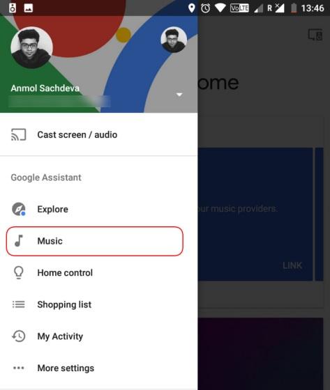 google home music 1