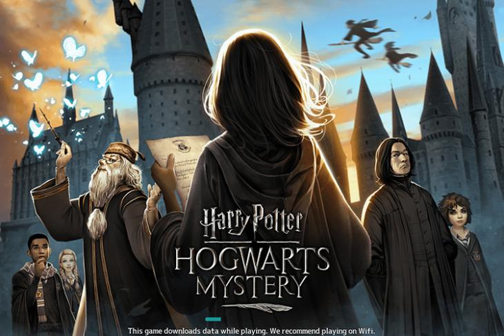 harry potter hogwarts mystery boring point and click adventure