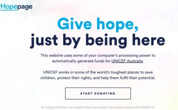 hopepage UNICEF