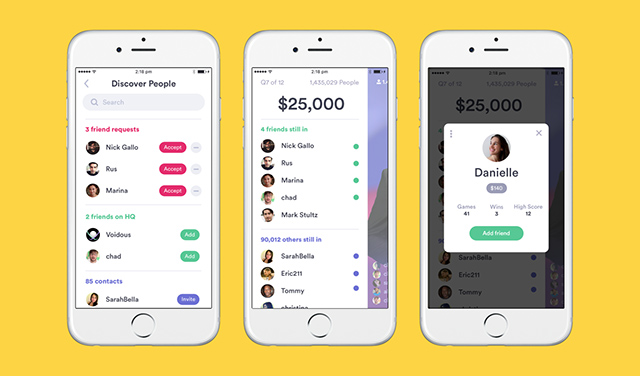 HQ Trivia Gets New Social Feature to Connect With Friends During Quizzes