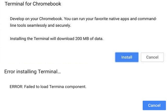 Terminal App in Chrome OS Hints At Support for Linux