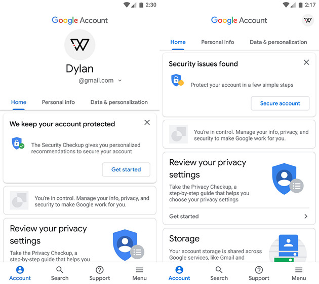 Google Account Settings in Play Services Could Get Material Design Revamp Soon
