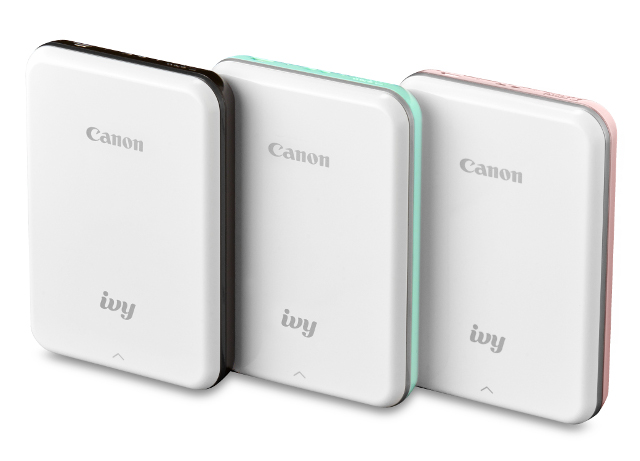 Canon's IVY Mini is An Ultra-Portable Instant Photo Printer for Android, iOS