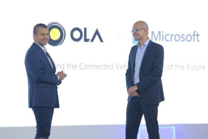 ola co-founder and microsoft ceo are on TIMEs 100 most influential people list