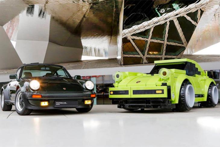 porsche lifesize 911 turbo lego model featured website