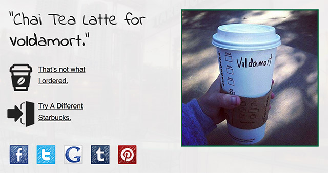 This Website Tells You Your Starbucks Name