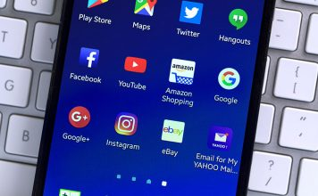 Apps Made by Amazon, Twitter, Google and Facebook