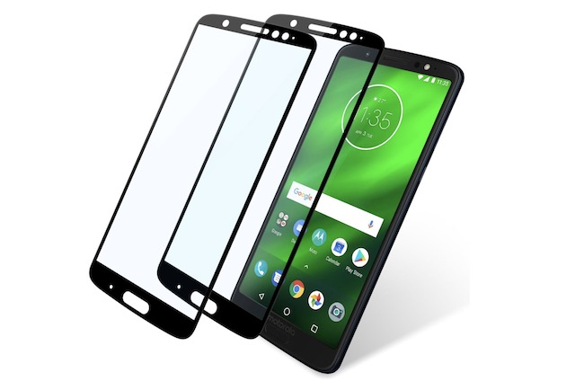 1. Niyattn Moto G6 Plus Screen Protector Full Coverage