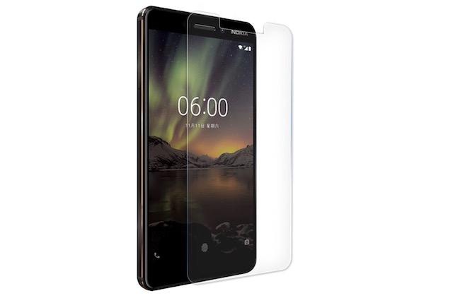 1. Nokia 6.1 screen protector by Wellci