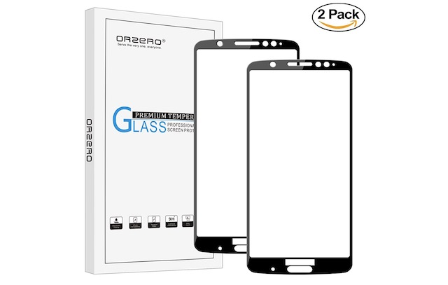 10. Orzero For Motorola Moto G6 Plus Screen Protector