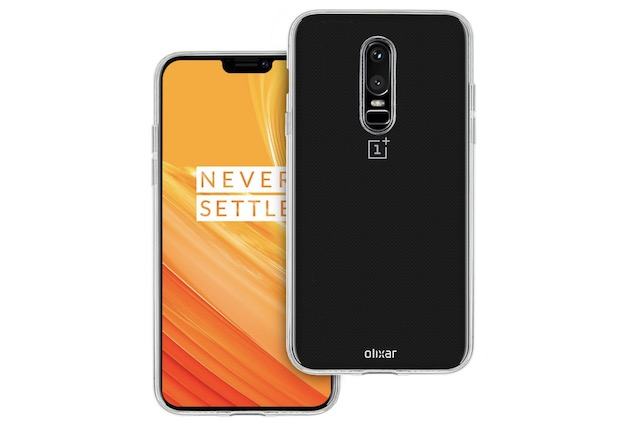 2. Flexishield OnePlus 6 Gel Case from Olixar