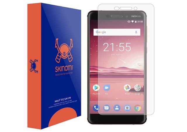 2. Nokia 6 (2018) Screen Protector by Skinomi
