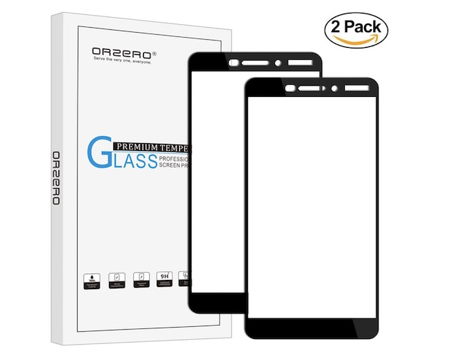 3. Orzero Tempered Glass Screen Protector for Nokia 6.1