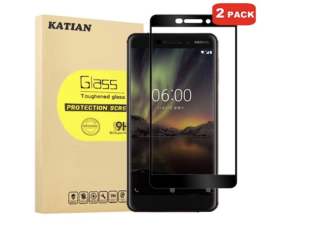 4. KATIAN HD Full Coverage Protector for Nokia 6.1