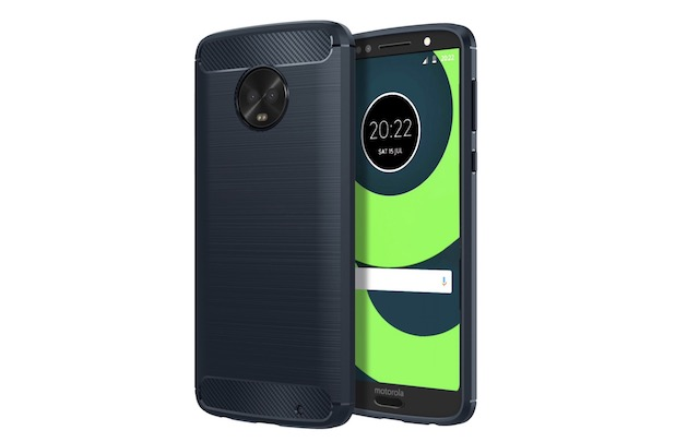 4. MoKo Flexible TPU Bumper Cover for Motorola Moto G6 Plus