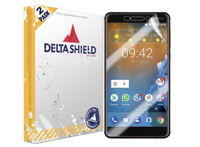 7. DeltaShield BodyArmor Screen Protector for Nokia 6 (2018)