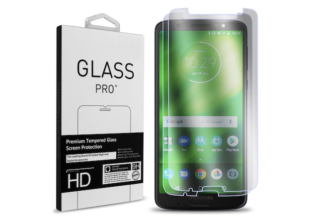 8. Moto G6 Plus Screen Protector By CoverON