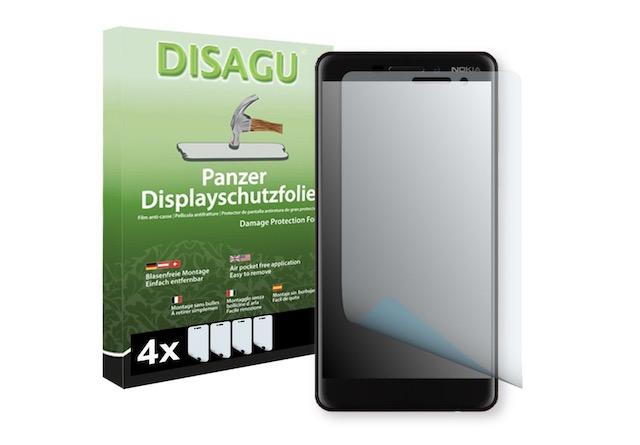 9. DISAGU 4 x Armor screen protector for Nokia 6.1