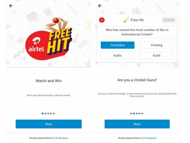 Airtel TV Free Hit