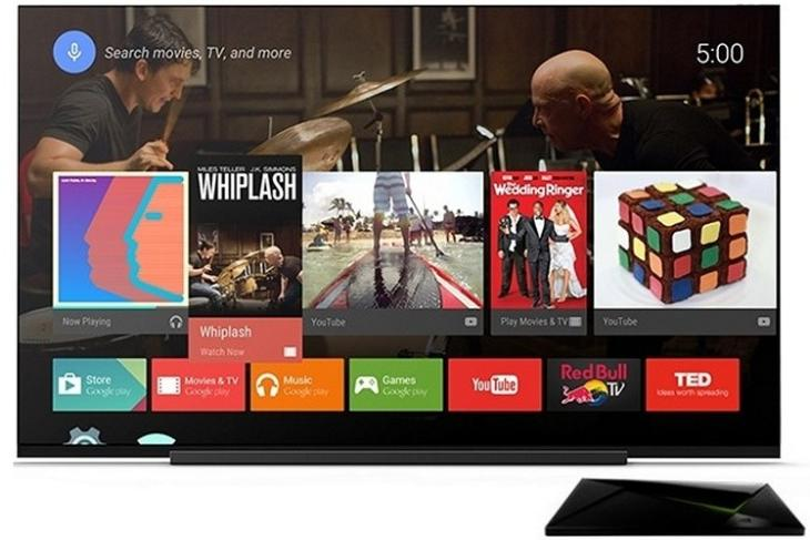 Android TV Official Render website