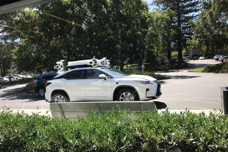 Apple Autonomous Car website
