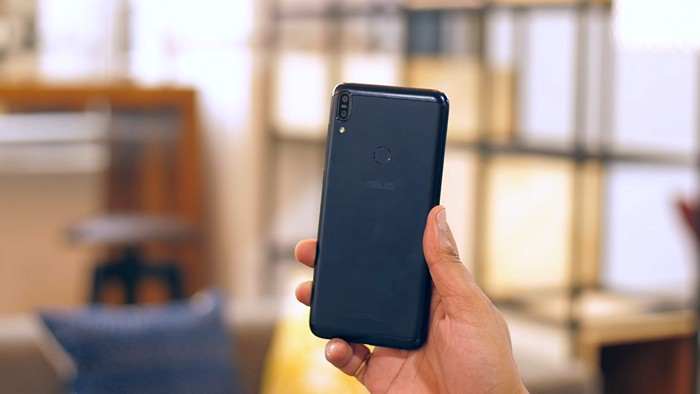 Asus ZenFone Max Pro Review Back