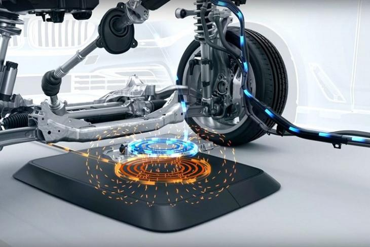 BMW Wireless Charging Pad website