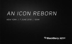 BlackBerry KEY2 launch website