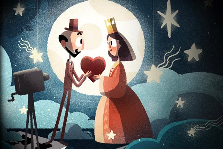 First Google Doodle in VR Celebrates French Magician and Filmmaker Georges Méliès