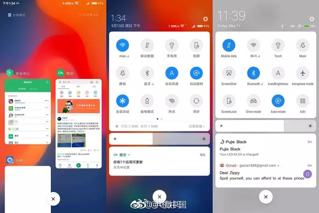Xiaomi's Redesigned MIUI 10 Has AI-Driven App Loading, New Recents UI and Swipe Gestures