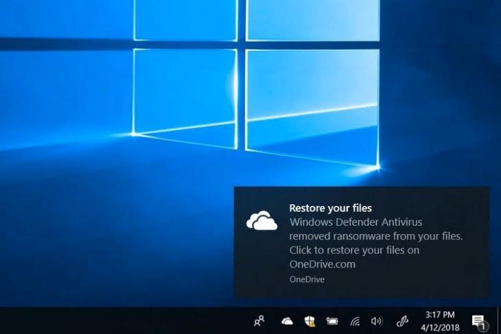 Microsoft Integrates OneDrive Files Restore Feature into Windows Defender
