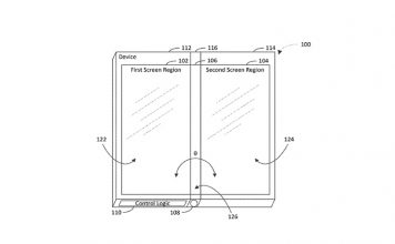 Microsoft Three Display Phone Patent