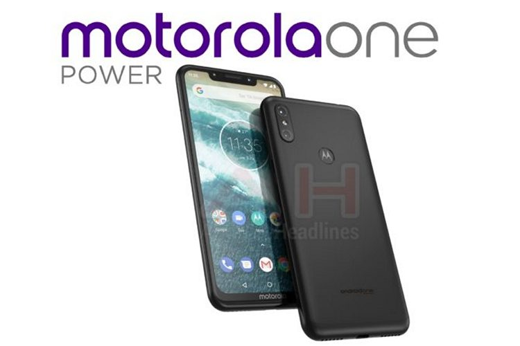 'Motorola One Power' May be The First Android One Device With a Notch