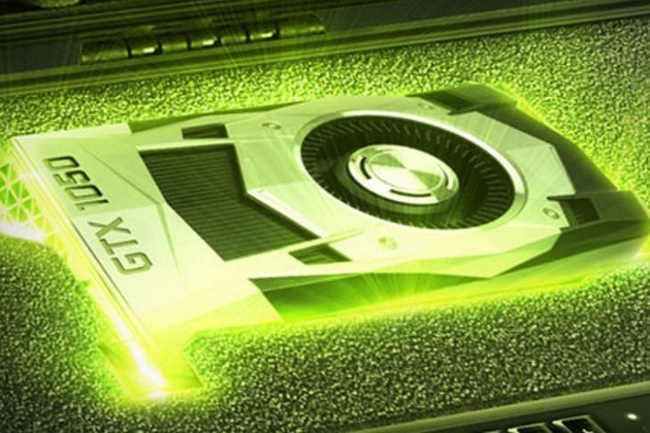 Nvidia GTX 1050 website
