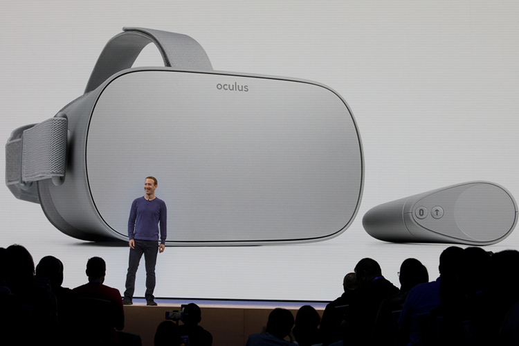 Mark Zuckerberg announces Oculus Go at f8