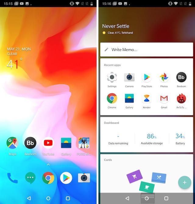 OnePlus 6 Oxygen OS
