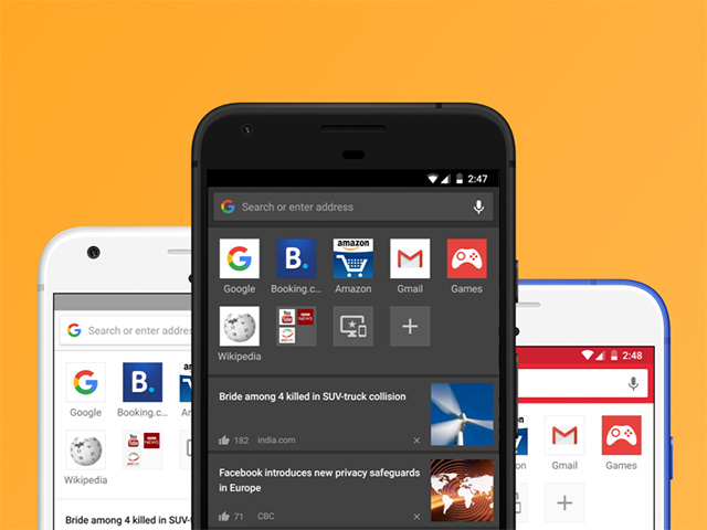 Opera 46 Android Themes