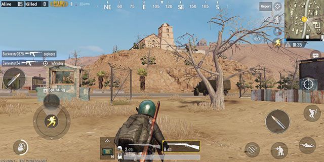 PUBG Mobile Desert Map 3