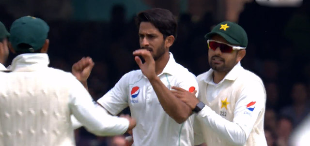 Pakistani players smartwatches icc
